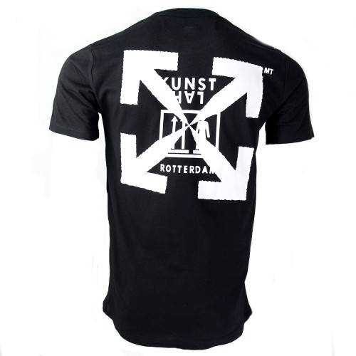 Off-White X Kunsthal Black Tee